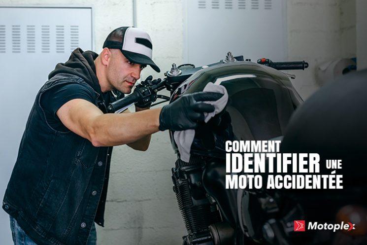 Comment identifier une moto accidentée