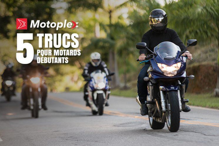 5 Trucs de pro pour motards débutants