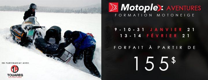 Motoplex Aventures: Formation de Motoneige